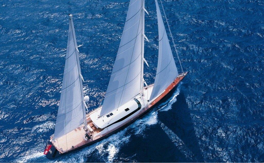 Yacht Maintenance System 53m Perini Navi Squall